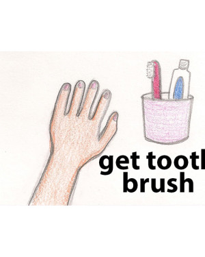 get tooth brush
