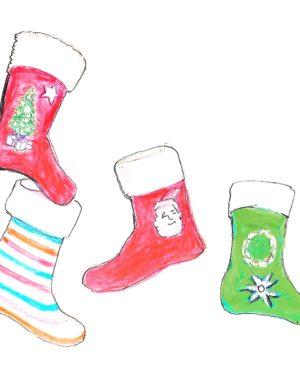 holidays- christmas stockings
